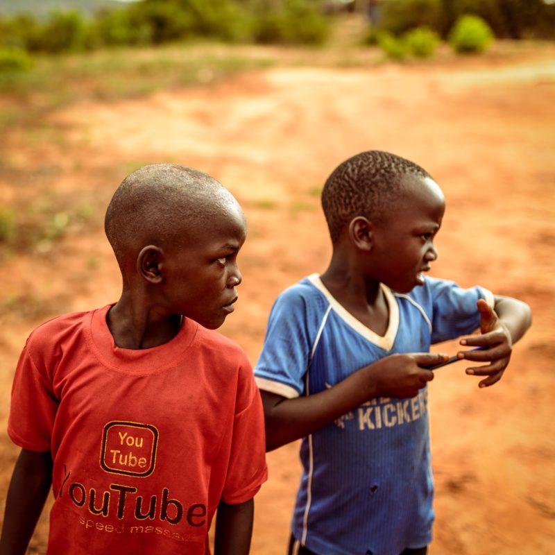 In Kenya, in cerca di fotografie